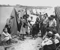 Joods vluchtelingenkamp, 1950.