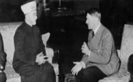 Grootmoefti Hoesseini met zijn idool Adolf Hitler