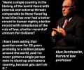 Mensenrechten Dershowitz country