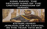 Jeruzalem Koning David