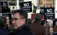 Labour protest
