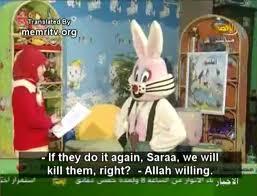 Kleine Palestijnse kinderen worden al op tv geindoctrineerd met moordzucht