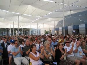 Likoed aanhangers bijeen in Israel