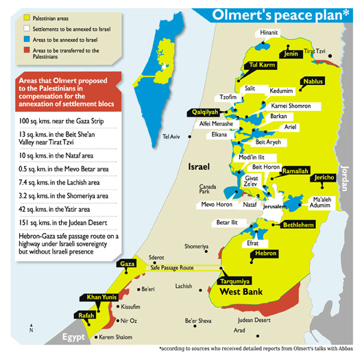 Olmert map