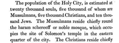 Jerusalem 1818