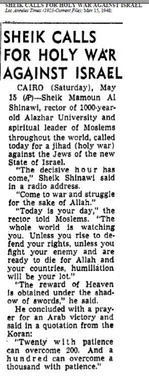 holy war 1948