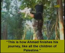 """""""Zo ziet de toekomst van alle Palestijnse kinderen er uit"""" (Hamas kinder televisie, 3 september 2007)"""