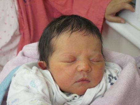 Hadas Fogel werd slechts drie maanden oud.