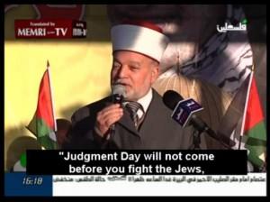 De dag des Oordeels komt pas als jullie de Joden bevechten.