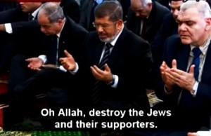 Morsi prays genocide