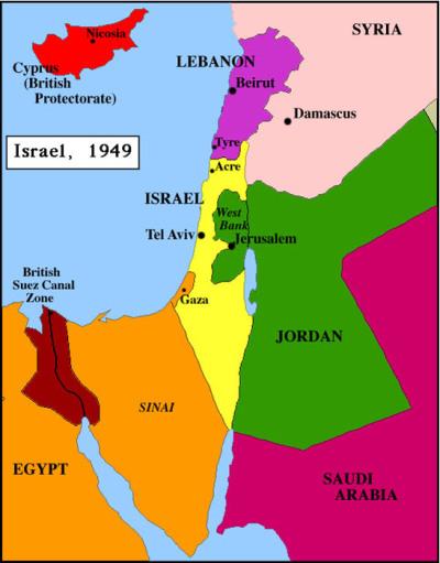 1949 israel