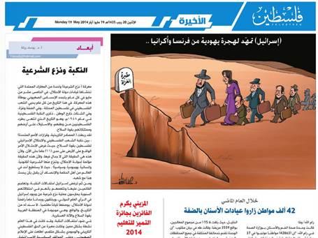 Hamas joden graf