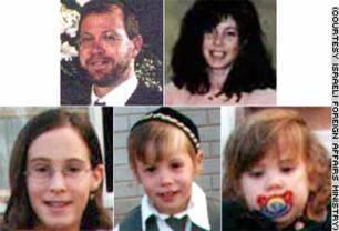 De omgekomen leden van het gezin Schrijveschuurder