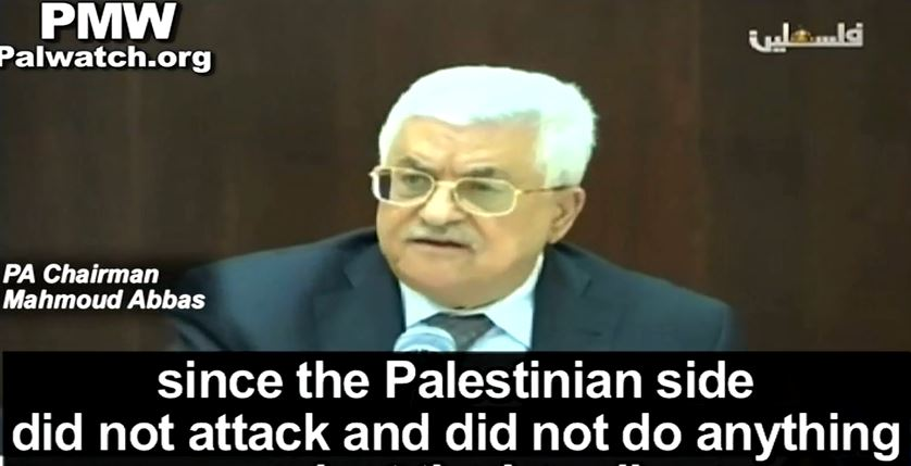 abbas did nothing