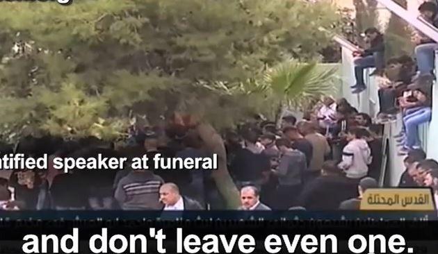 genocide begrafenis