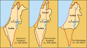 map ancient Israel