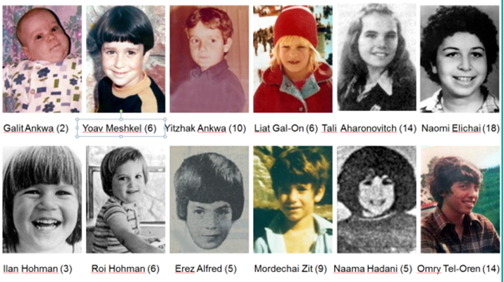 Mughrabi vermoorde kinderen
