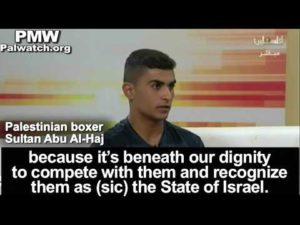 Palestinian boxer