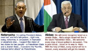 abbas netanyahu peace