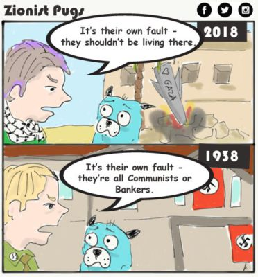 Jews their own fault