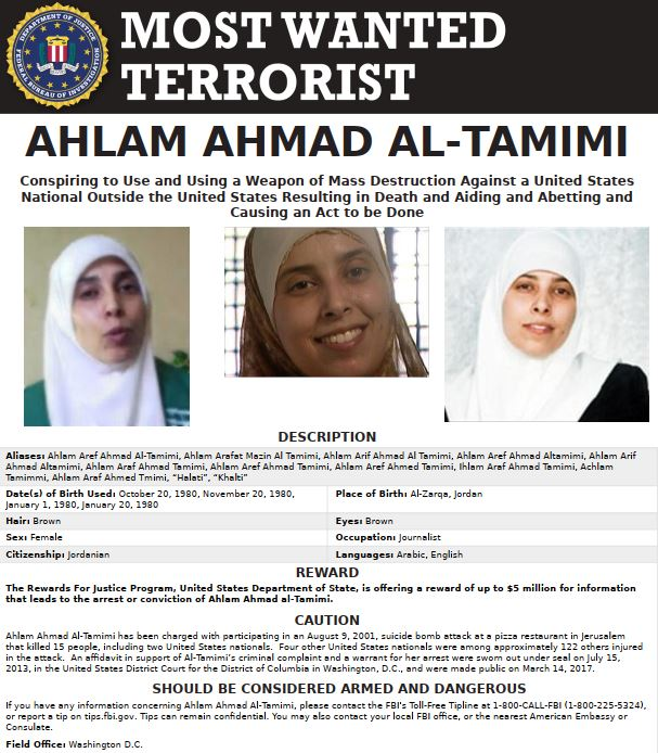 Tamimi most wanted